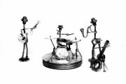 sculpture personnages ollioules music : musicien