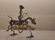sculpture animaux var ollioules cavalier : cavalier