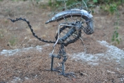 sculpture personnages var ollioules alien : alien