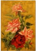 tableau nature morte tafaraoui roses etamines pistils : Les roses de Tafaraoui 2015