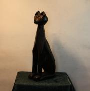 sculpture animaux histoire pharaons religion niel : Le chat