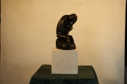 sculpture personnages tristess chagrin malheur moyen : Chagrin