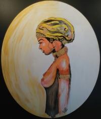 Femme d'orient