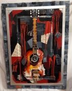 mixte abstrait musique chant guitare : Guitare