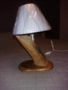 bois marqueterie lampe bois flotte : Lampe 5 Bois Flotté
