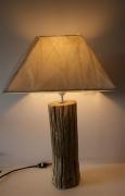 bois marqueterie lampe bois flotte : Lampe 1 Bois flotté