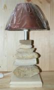 bois marqueterie lampe bois flotte : Lampe 4 Bois Flotté