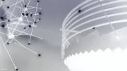 photo abstrait lustre escalier architecture design : Conversation