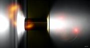 photo abstrait lumiere lampe art contemporain : Et la lumière...