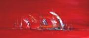 tableau abstrait : Voiles De Villeneuve