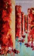 tableau villes couleurs famille nantes architecture : Loin ...