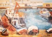 tableau marine : la pêcherie