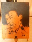 tableau personnages portrait chant metisse posca : Choeur
