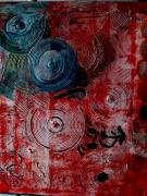 tableau abstrait : tourbillon
