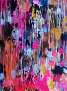 tableau abstrait abstrait celine marcoz paysage peinture : Abstrait