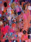 tableau abstrait abstrait celine marcoz : Abstrait