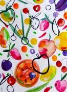 dessin fruits fruits fruits art fruits peinture fruits aquarelle : Fruits