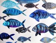dessin animaux poissons celine marcoz : Poissons