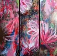 Fleurs Art Abstrait
