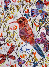 Oiseau Rose