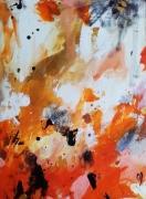 tableau abstrait abstrait celine marcoz : Ciel