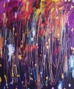 tableau abstrait abstrait celine marcoz paysage emotions : Abstrait