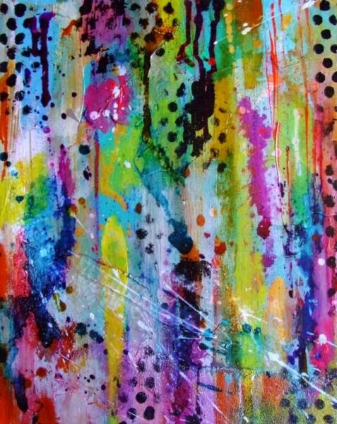TABLEAU PEINTURE art abstrait peinture abstraite tableau abstrait art contemporain Abstrait Acrylique  - Art Abstrait