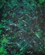 tableau abstrait abstrait mer eau lumineux : Mer