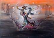 tableau personnages surrealisme : sur un air d'operette