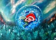 tableau personnages fee elfe fantaisie : Il etait une fois