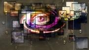 art numerique abstrait abstrait : Vision