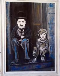 charlot et l'enfant
