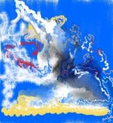 art numerique abstrait sentiment abstrait : sentiment1
