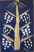 deco design autres arbre vie bambou ecorce cires sur bois : ASCENSION
