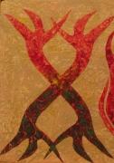 """tableau autres bois arbre cire tabl : """"HUIT"""" ARBRE DE L'UNIVERS"""