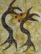 tableau autres kakemono reproductio peinture cires creation toile tableau : SENTIMENT & SINCERITE