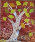 artisanat dart paysages concept bois cires vegetales ecorces feuilles : ARBRE AUX ECUS