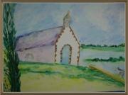 tableau paysages : Chapelle bretonne