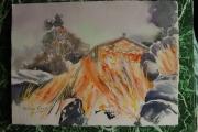 tableau paysages maison : Jardin d'hivers
