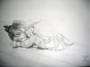 dessin sport danseuse enfant : Petite danseuse