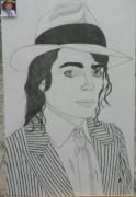 dessin personnages : Michael Jackson N° 77