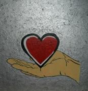dessin autres st valentin cadeau offrir amoureux : Peinture pour la St Valentin N° 40
