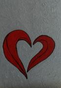 dessin autres st valentin cadeau offrir amoureux : Peinture pour la St Valentin N°  17
