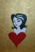 dessin autres st valentin cadeau offrir amoureux : Peinture pour la St Valentin N° 73