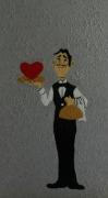 dessin autres st valentin cadeau offrir amoureux : Peinture pour la St Valentin N°  37