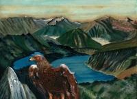 Aigle dans les Pyrénées