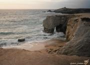 photo paysages arche de portblanc stpierre quiberon bretagne : L'ARCHE DE PORT-BLANC