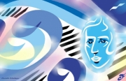 art numerique personnages frederic chopin musicien pianiste : FRÉDÉRIC CHOPIN