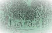 mixte paysages place des tilleuls arbres place villiers94 : PLACE DES TILLEULS