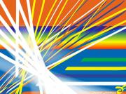 art numerique abstrait hasard circonstance lumiere spirituel : LE HASARD